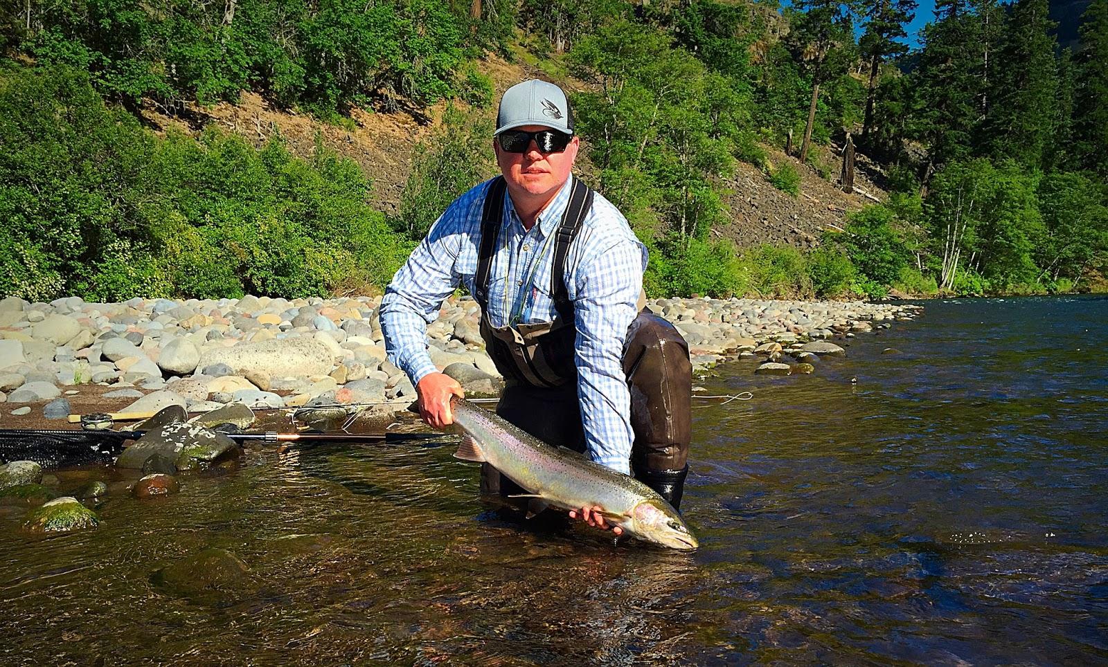 The evening hatch reports klickitat river june 5 2015 for Klickitat river fishing report
