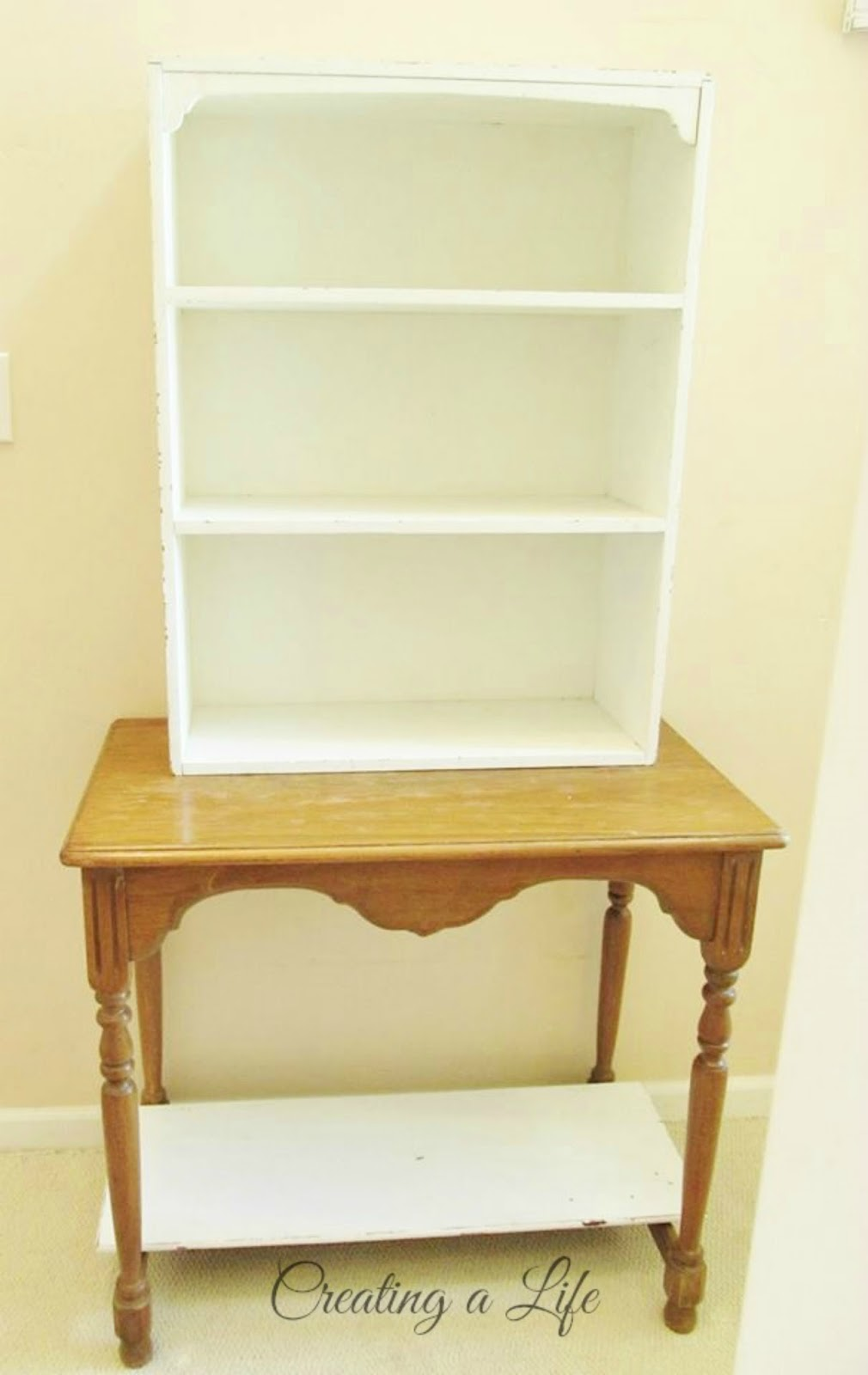 - Creating A Life: DIY Hutch In The Entryway