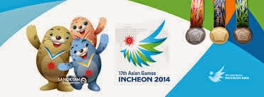 Jadual Penuh Acara Sukan Asia Incheon 2014