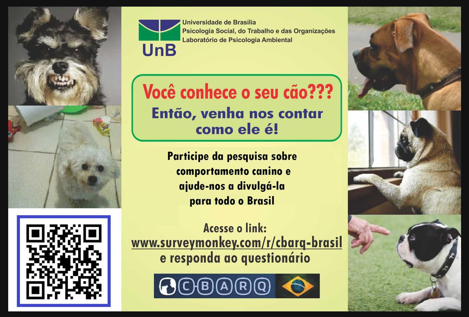 Pesquisa sobre Comportamento Canino