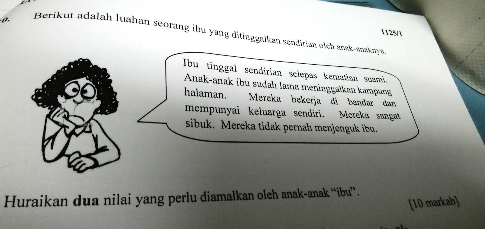 soalan kbkk moral spm essay