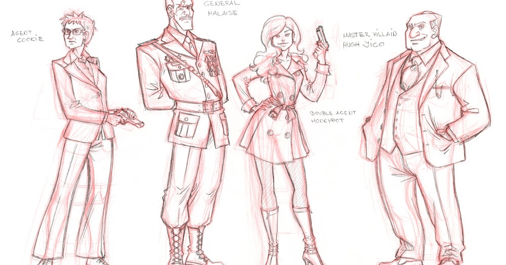 Game Character Design Contest : Janina görrissen illustration video game character designs