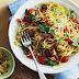 Spaghetti arrabiata with lemon and thyme pangrattato recipe