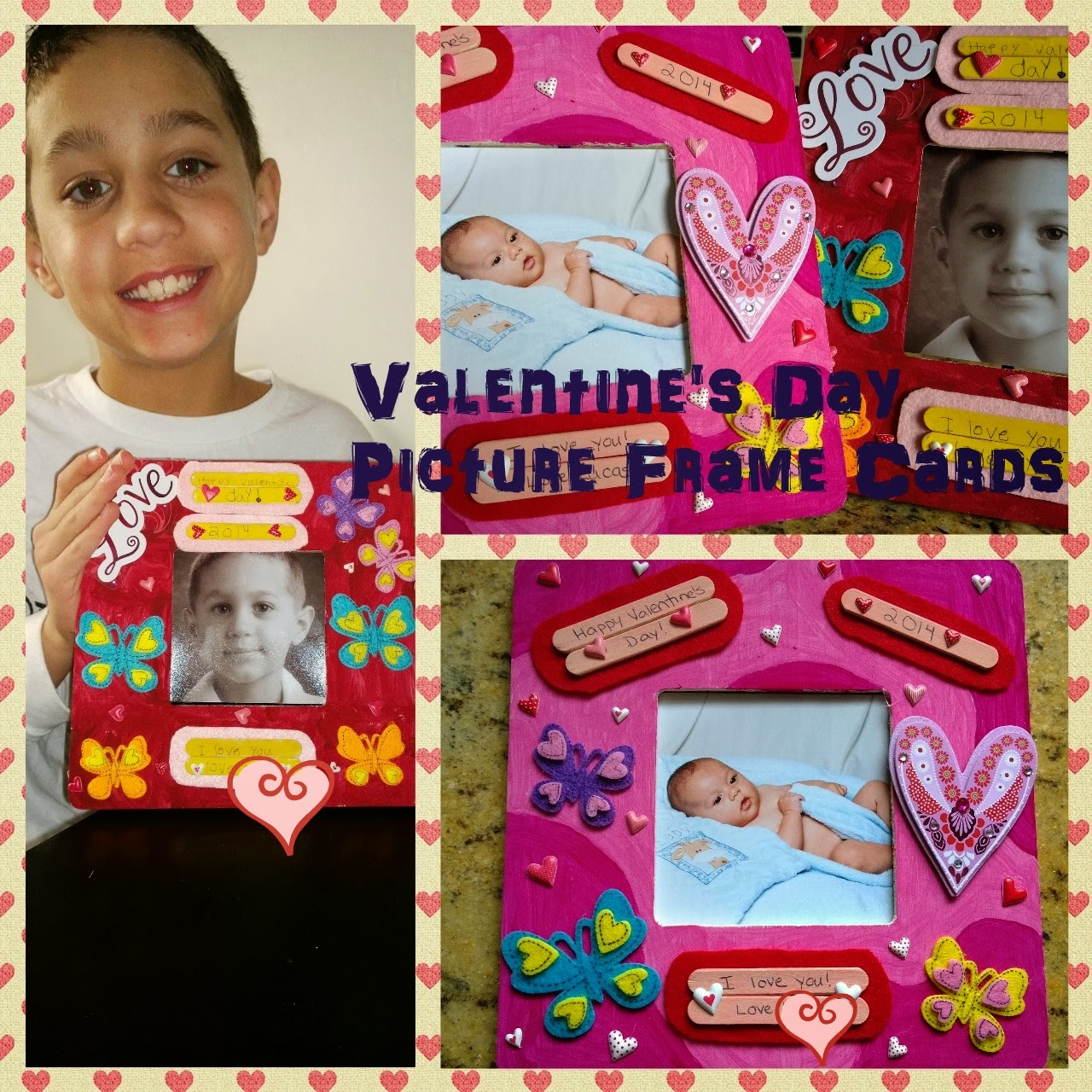 Valentine's Day Picture Frame Cards #shop #cbias