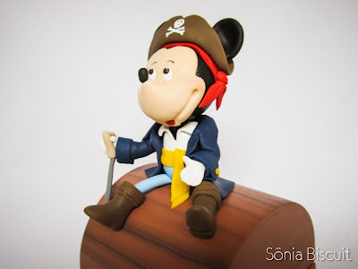 Mickey Pirata Biscuit Lembrancinha
