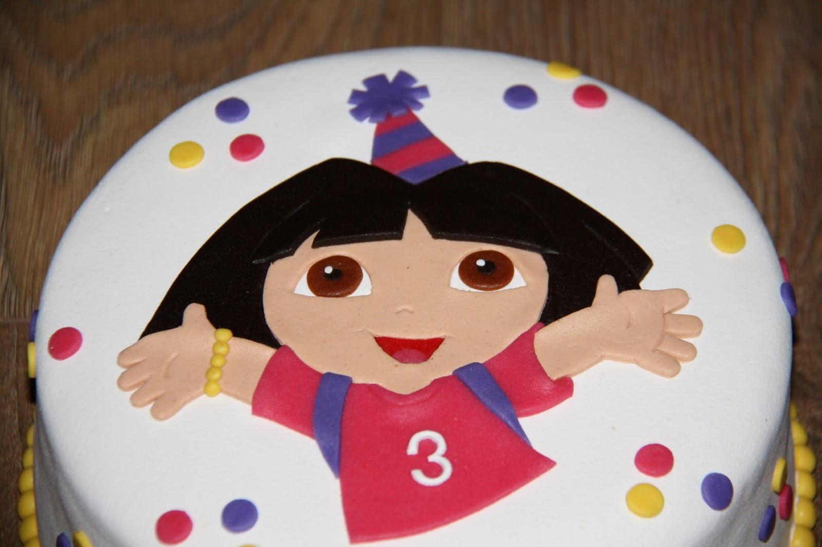 Favoriete Karin's Taarten: Dora taart #GW-14