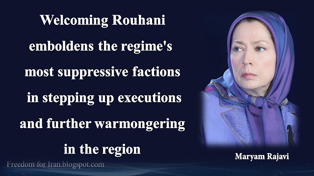 Iran-Maryam Rayavi's massages,Paris,Rally of no to Rouhani28 January 2016