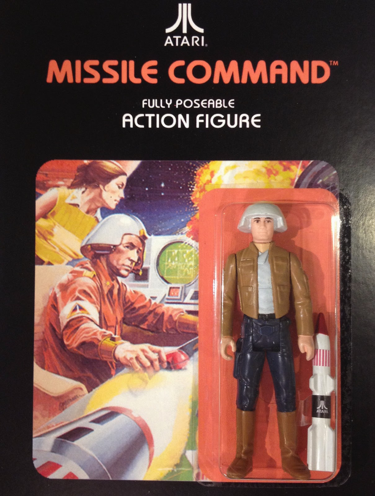 80s Toys Action Figures : Custom action figures based on classic atari video games