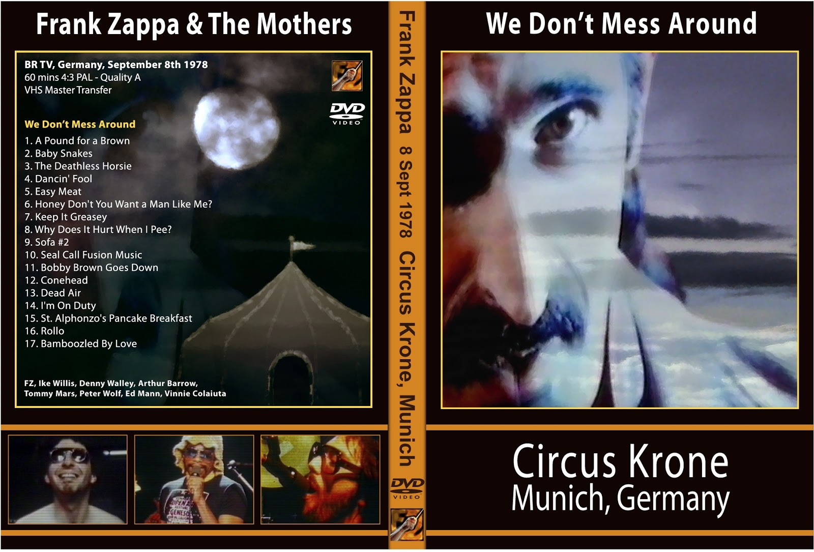 DVD Covert Frank Zappa We Dont Mess Around 1978 : cover from dvdconcertth.blogspot.com size 1600 x 1085 jpeg 284kB