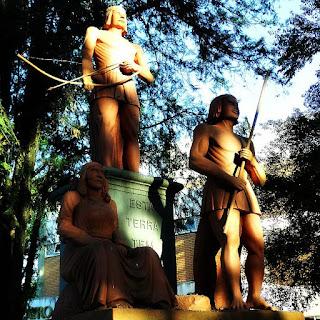 Monumento ao Índio, em Santo Ângelo.