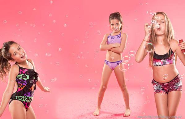 moda infantil mallas y bikinis verano 2014