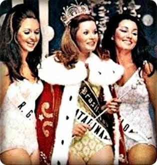 TOP TRES MISS BRASIL 1969