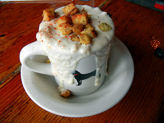 Cup of Chowda at the Black Dog Tavern
