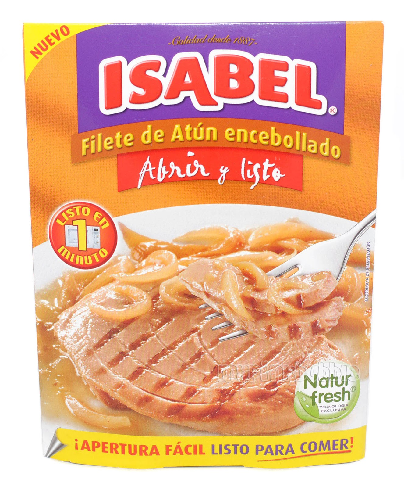 Isabel filete atun encebollado