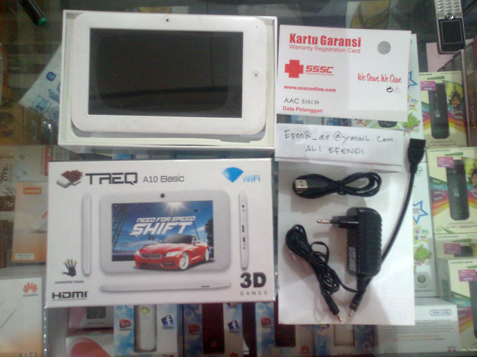 Review Tablet TREQ A10 Basic