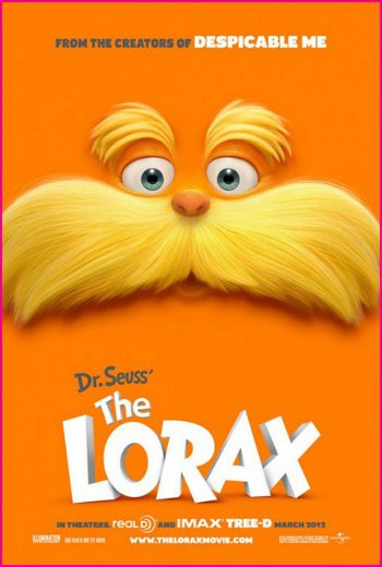 DR SEUSS THE LORAX (2012)