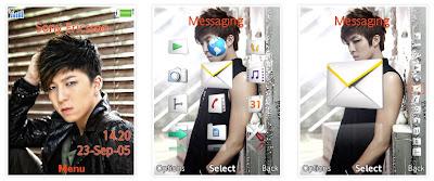 秀鉉@U-Kiss SonyEricsson手機主題for Elm/Hazel/Yari/W20﹝240x320﹞
