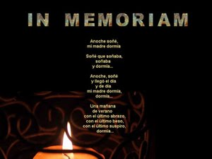 <em>In memoriam</em> DEDICADO A MI MADRE Y A MI PADRE <em>[R.I.P.]</em>