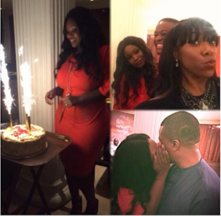 OAP Toolz Gets A Surprise Dinner For Her Birthday - Photos