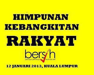 27 Syarat Himpunan Kebangkitan Rakyat 2013/ #KL112