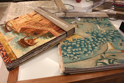 Tespi and Arden fabric books
