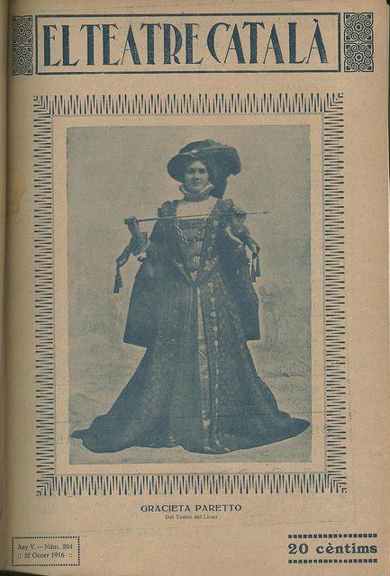 GREAT SPANISH SOPRANO GRAZIELLA PARETO (1889 – 1973) CD