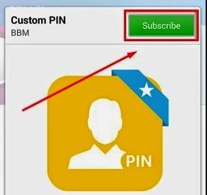 Mudah!!! Cara Ganti PIN BBM Android Sesuka Hati (Costum PIN)