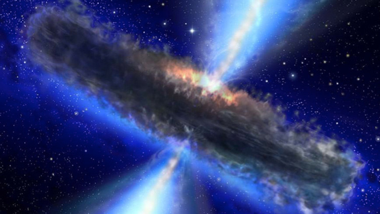 Un agujero negro supermasivo situado en el centro de la Vía Láctea  podría acabar con la Tierra