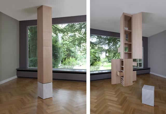 Almacenamiento oculto. Orden y diseño en madera|Espacios en madera