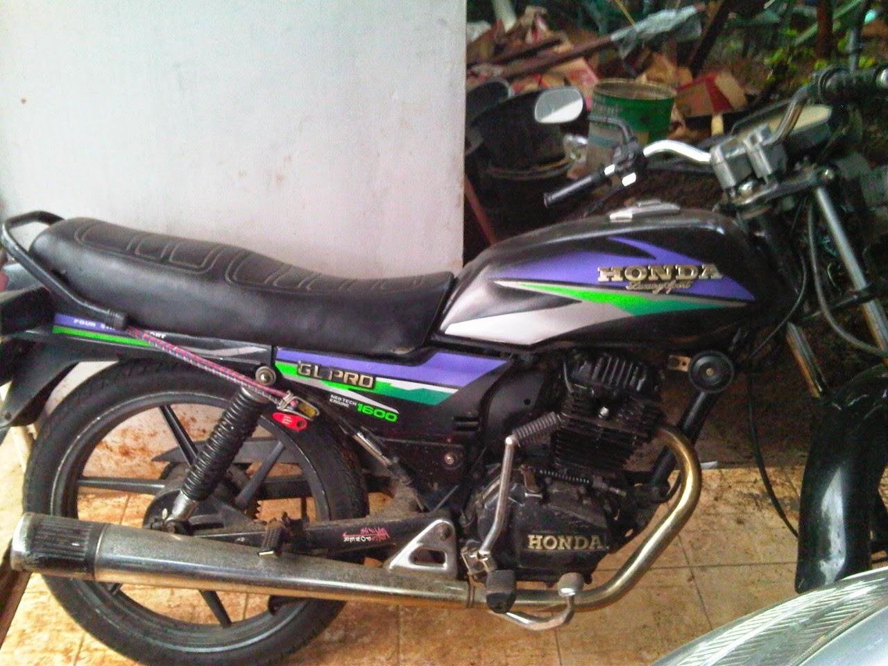 spesifikasi honda gl pro black engine – si hitam powerfull | motor tuo
