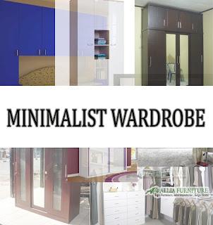 Model & tipe dari lemari pakaian minimalis