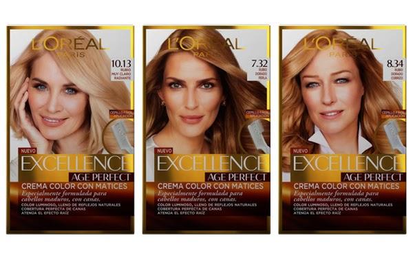 coloración Excellence Age Perfect de L'Oréal Paris para cabellos maduros precio