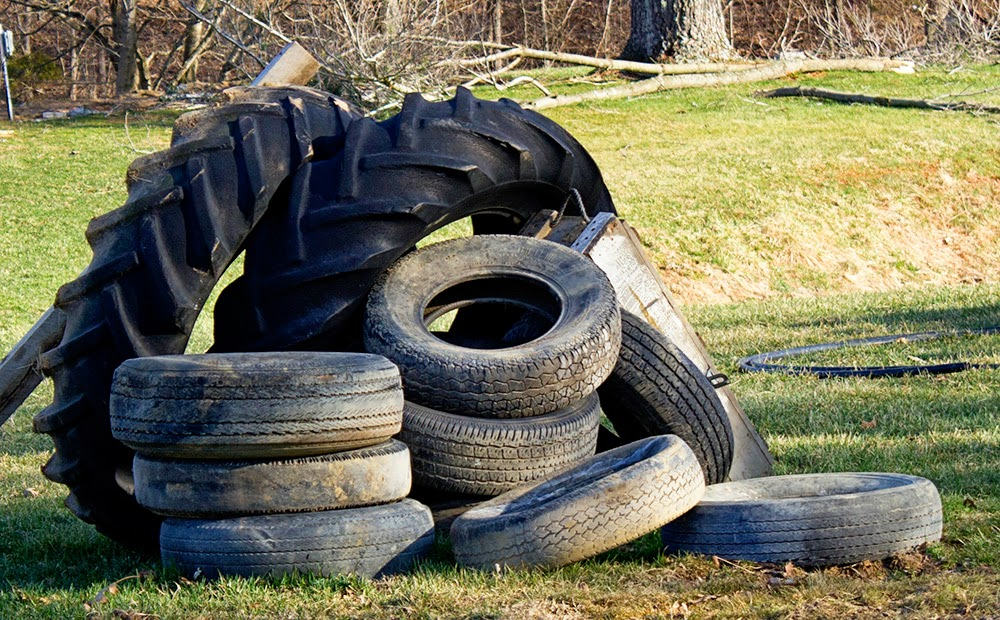 Rurification: Old Tires