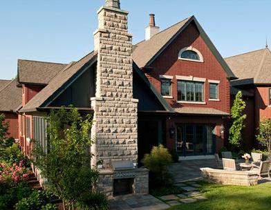 Fachadas de casas fachada de casas de dos plantas - Fachada de casas de dos plantas ...