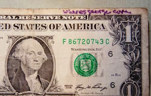 Another Marking I Found While Stamping Dollar Bills With BillStamps Message