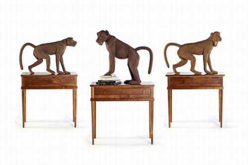 Shauna Richardson. 3 babuínos