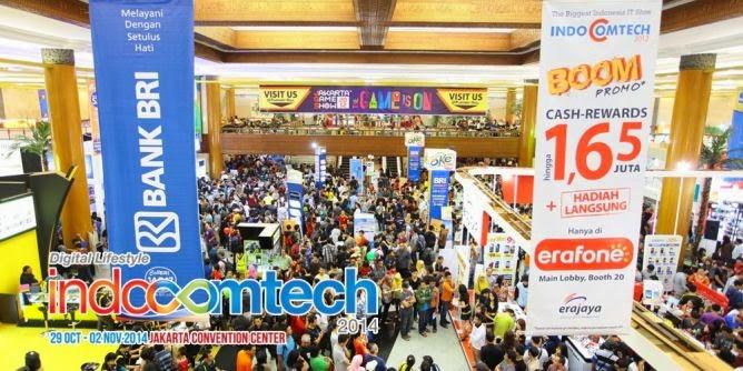 Indocomtech 2014 Hari Ini Sampai 2 November