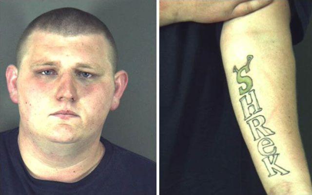 Tatuagem do Shrek