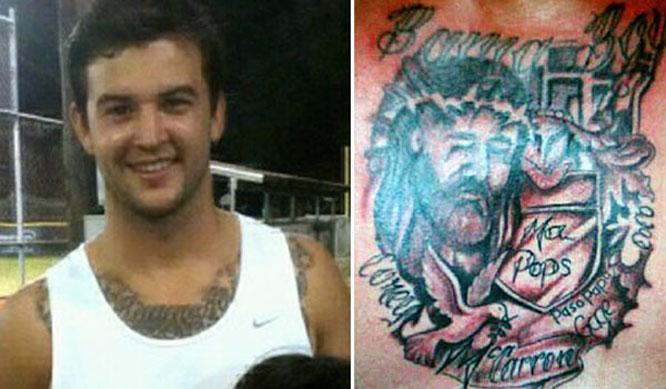 AJ McCarron Tattoo
