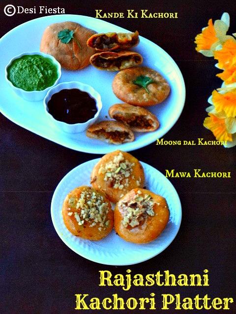 Onion Kachori|Mawa Kachori |Moong dal Kachori