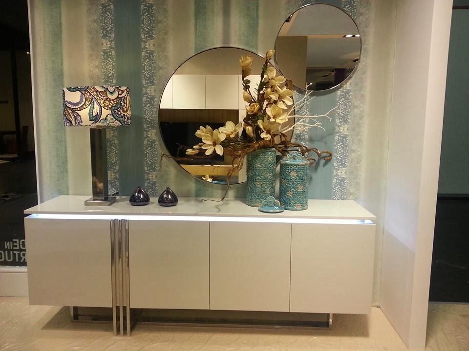 Bricolage e decora o decora o de sala ou hall de - Aparadores de entrada ...
