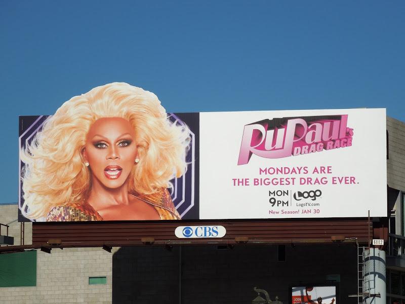 RuPaul's Drag Race season 4 billboard