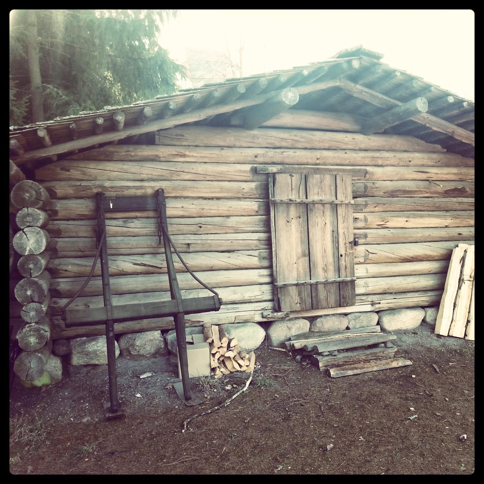 Skansen - chatka drevorubača