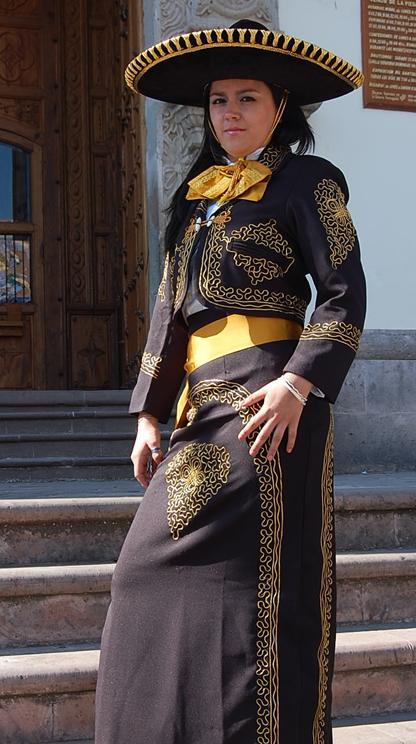 Vestidos de charra de gala de mujer
