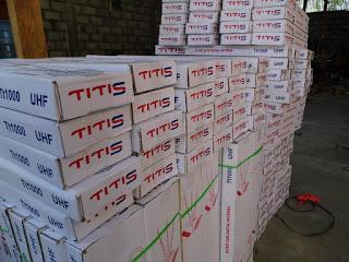 stock di pabrik TITIS di Bantul