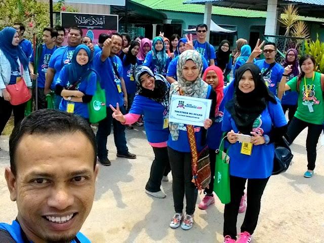 Beramal Bersama Bintang di Kem Ramadan Yeo's 2015