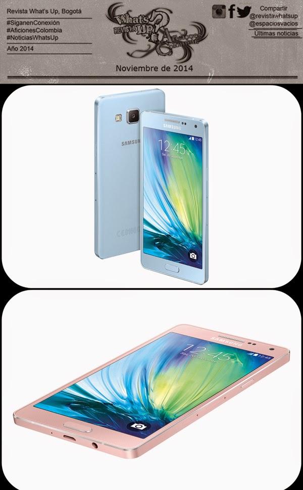 ultra-delgados-Smartphones-GALAXY-A5-GALAXY-A3-Samsung-mercado-optimizados-Redes-Sociales
