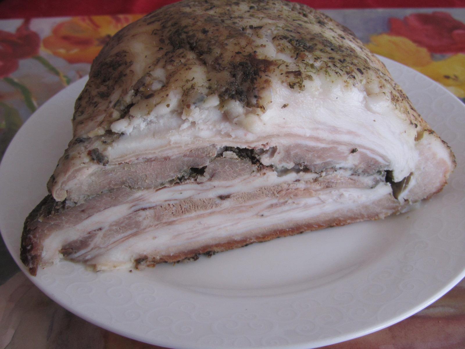Сало в духовке в фольге пошаговый рецепт с из свинины