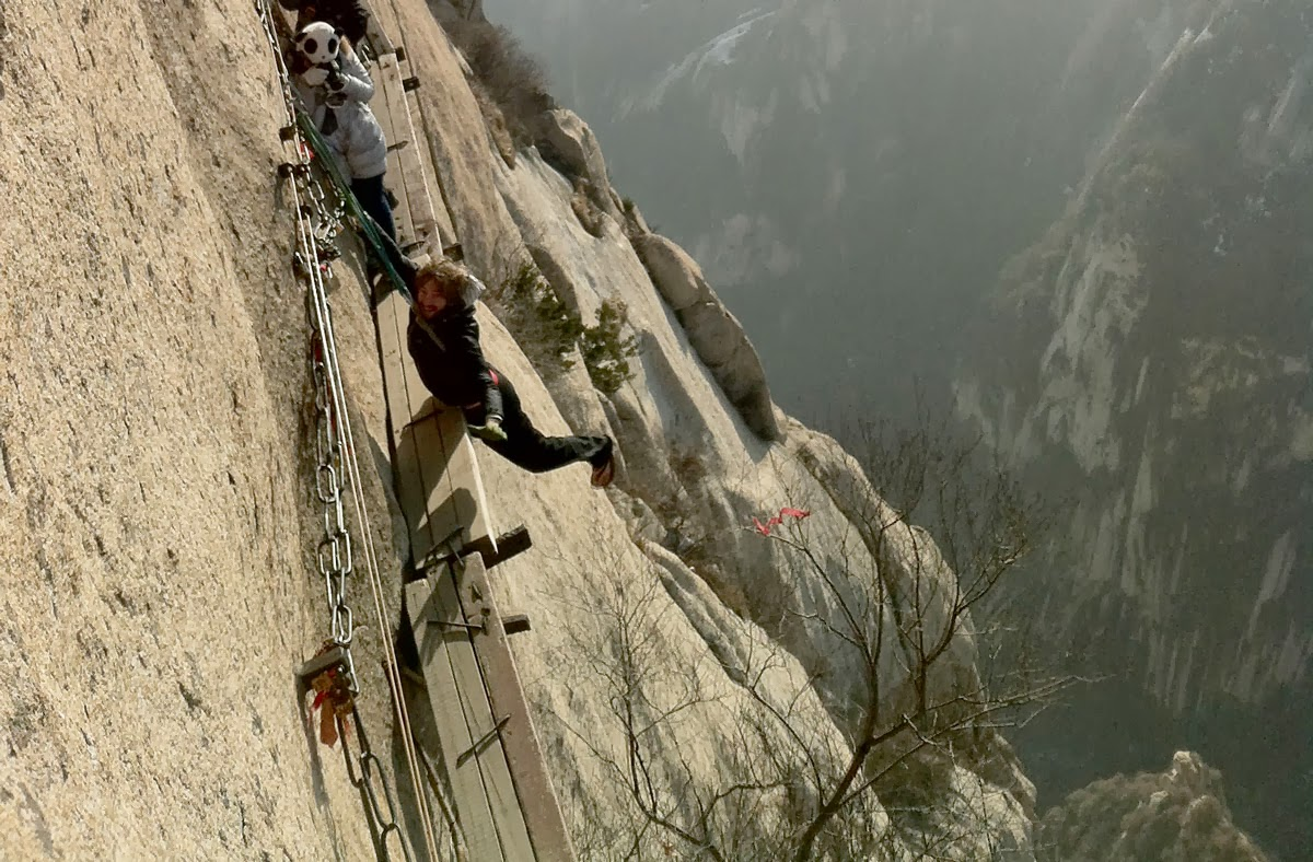 Shiyan China  City new picture : Pinceladas Actuales: Huashan, China, La Montaña Sagrada