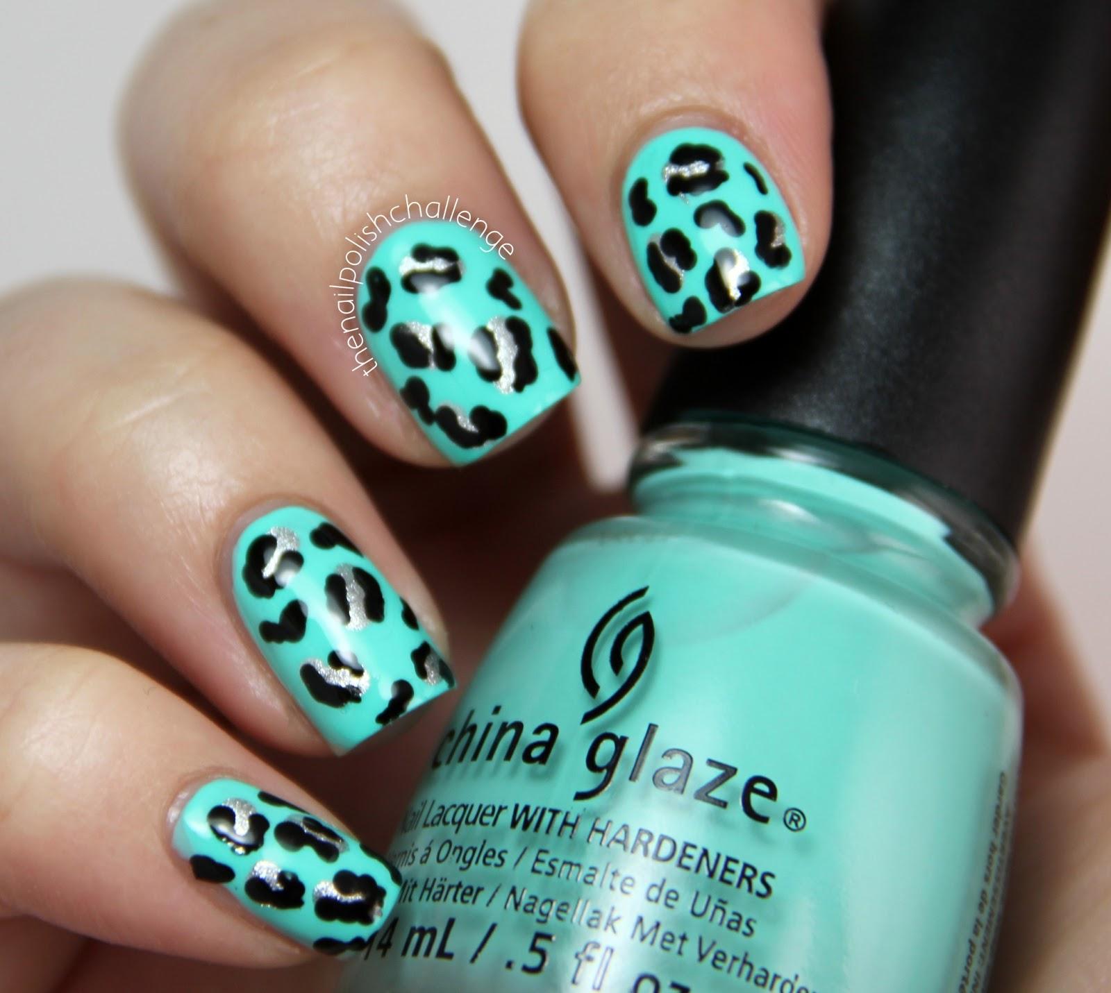 Kelli Marissa Leopard Print Nail Art Tutorial